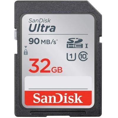 Карта памяти SANDISK 32GB SDXC class 10 UHS-I Ultra (SDSDUNR-032G-GN6IN)