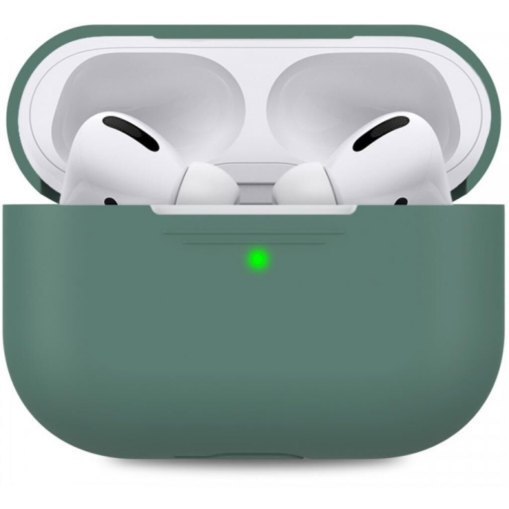 Чехол MakeFuture Apple AirPods Pro Silicone Green (MCL-AAPGN)