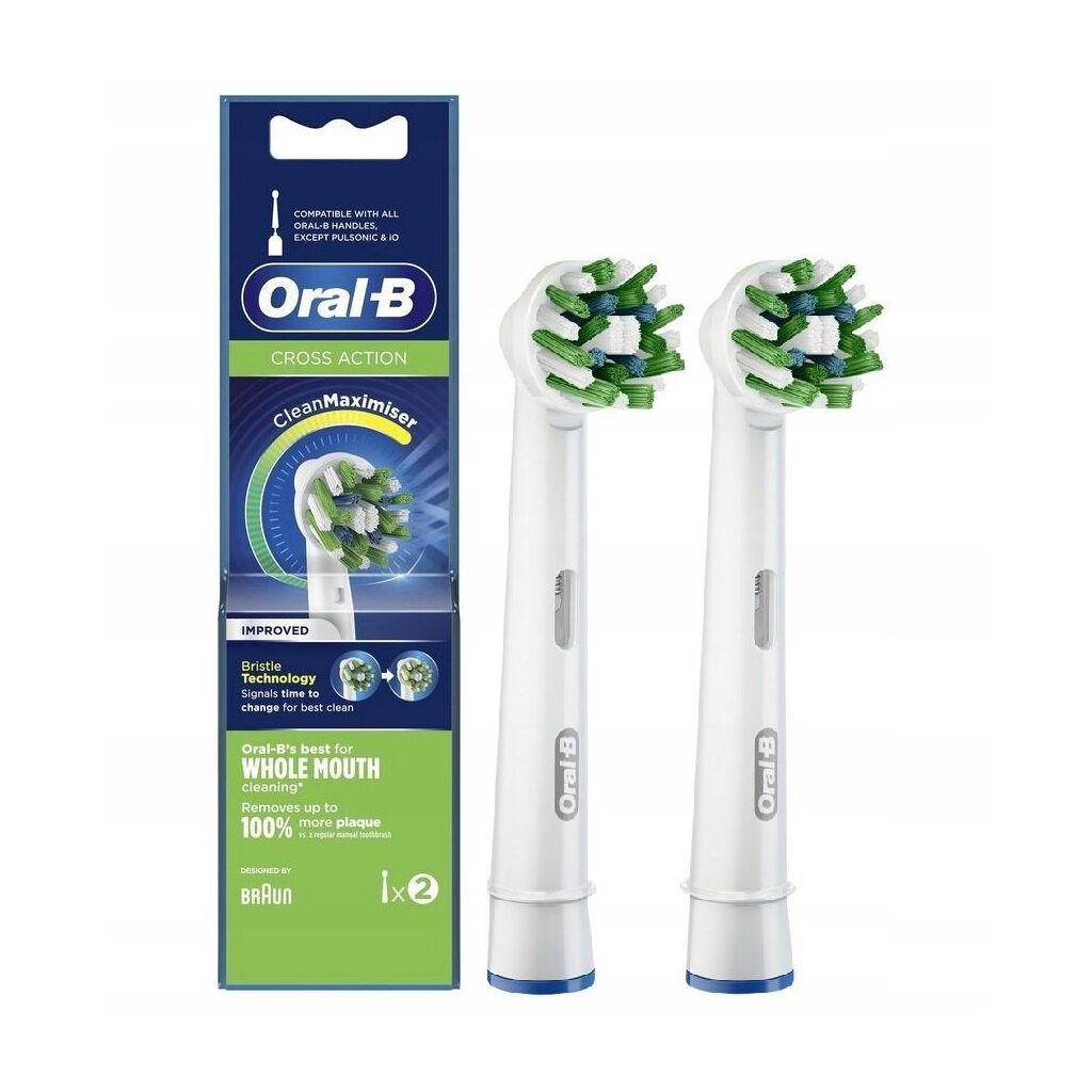 Насадка для зубной щетки Oral-B Cross Action EB50RB CleanMaximiser (2)
