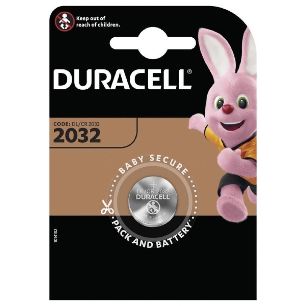 Батарейка Duracell CR 2032 / DL 2032 * 1 (5000394023369 / 5007658)