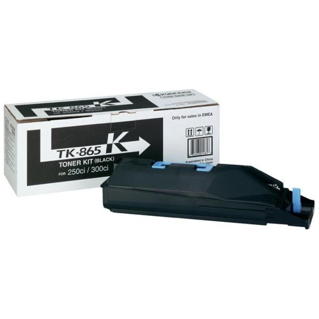 Тонер-картридж Kyocera TK-865K (1T02JZ0EU0)
