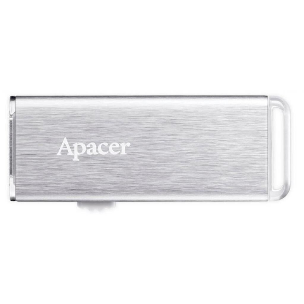 USB флеш накопитель Apacer 16GB AH33A Silver USB 2.0 (AP16GAH33AS-1)