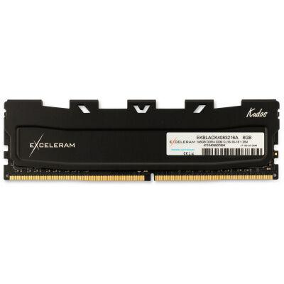 Модуль памяти для компьютера DDR4 8GB 3200 MHz Kudos Black eXceleram (EKBLACK4083216A)