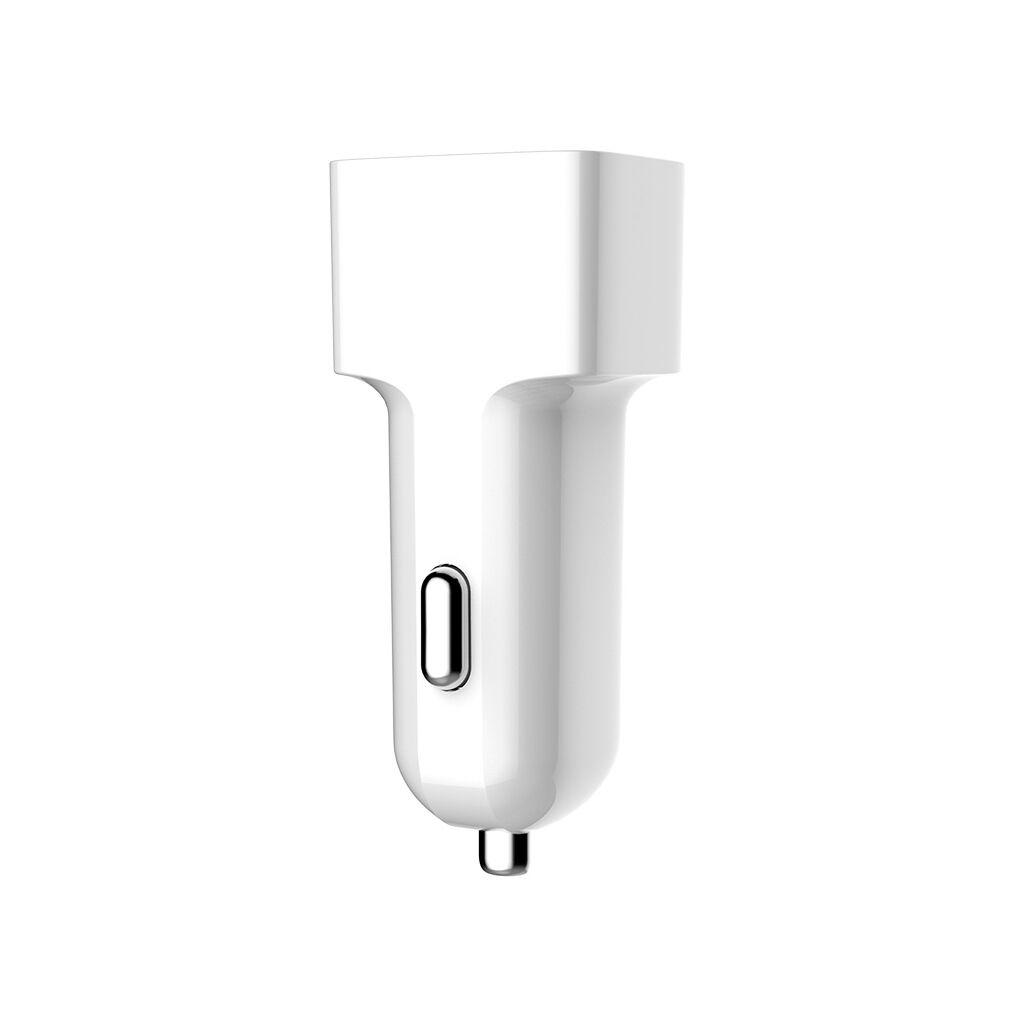 Зарядное устройство ColorWay 2USB AUTO ID 2.4A (12W) white (CW-CHA009-WT)