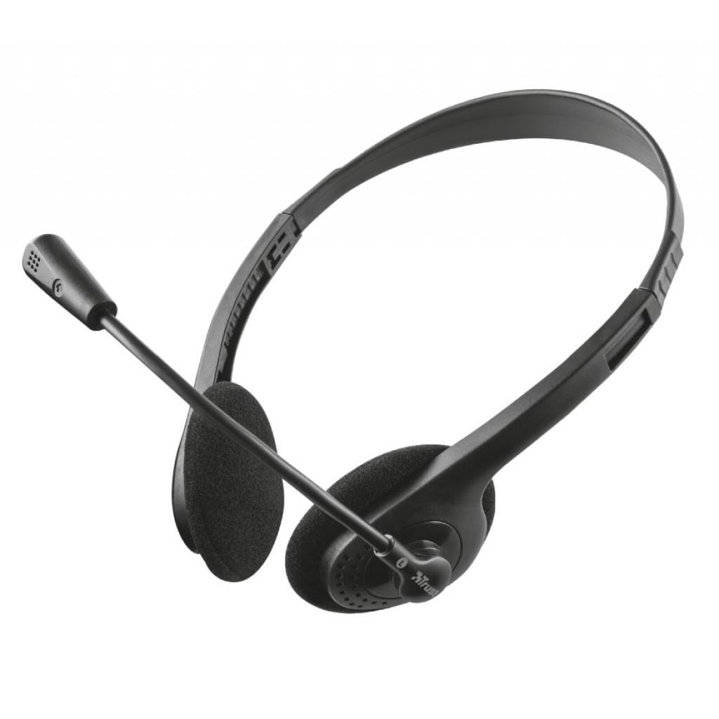 Наушники Trust Ziva Chat 3.5mm Black (21517)