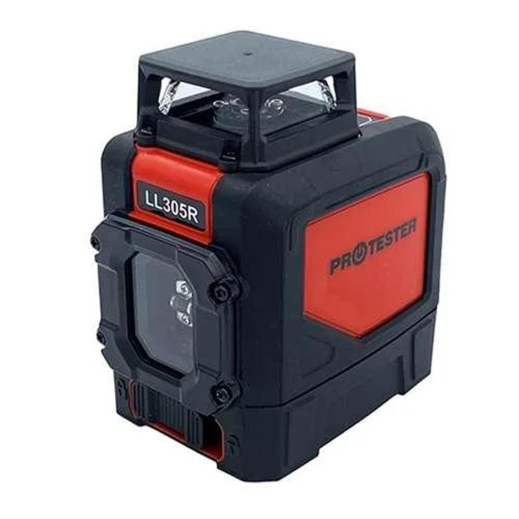 Лазерный нивелир Protester H360°/1V красный луч (LL305R)