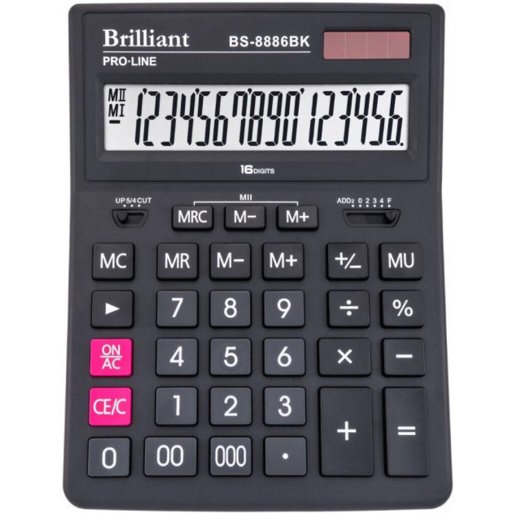 Калькулятор Brilliant BS-8886BK