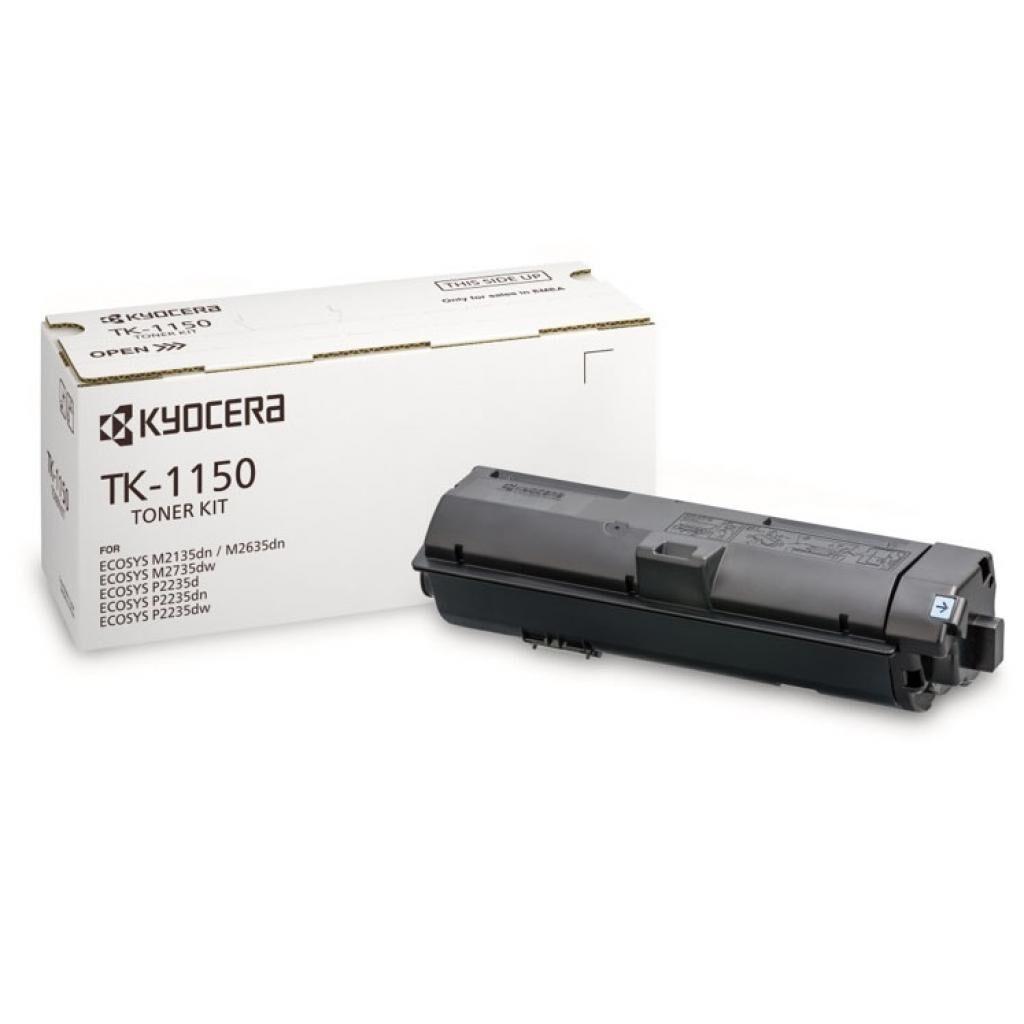 Тонер-картридж Kyocera TK-1150 Black, 3K (1T02RV0NL0)