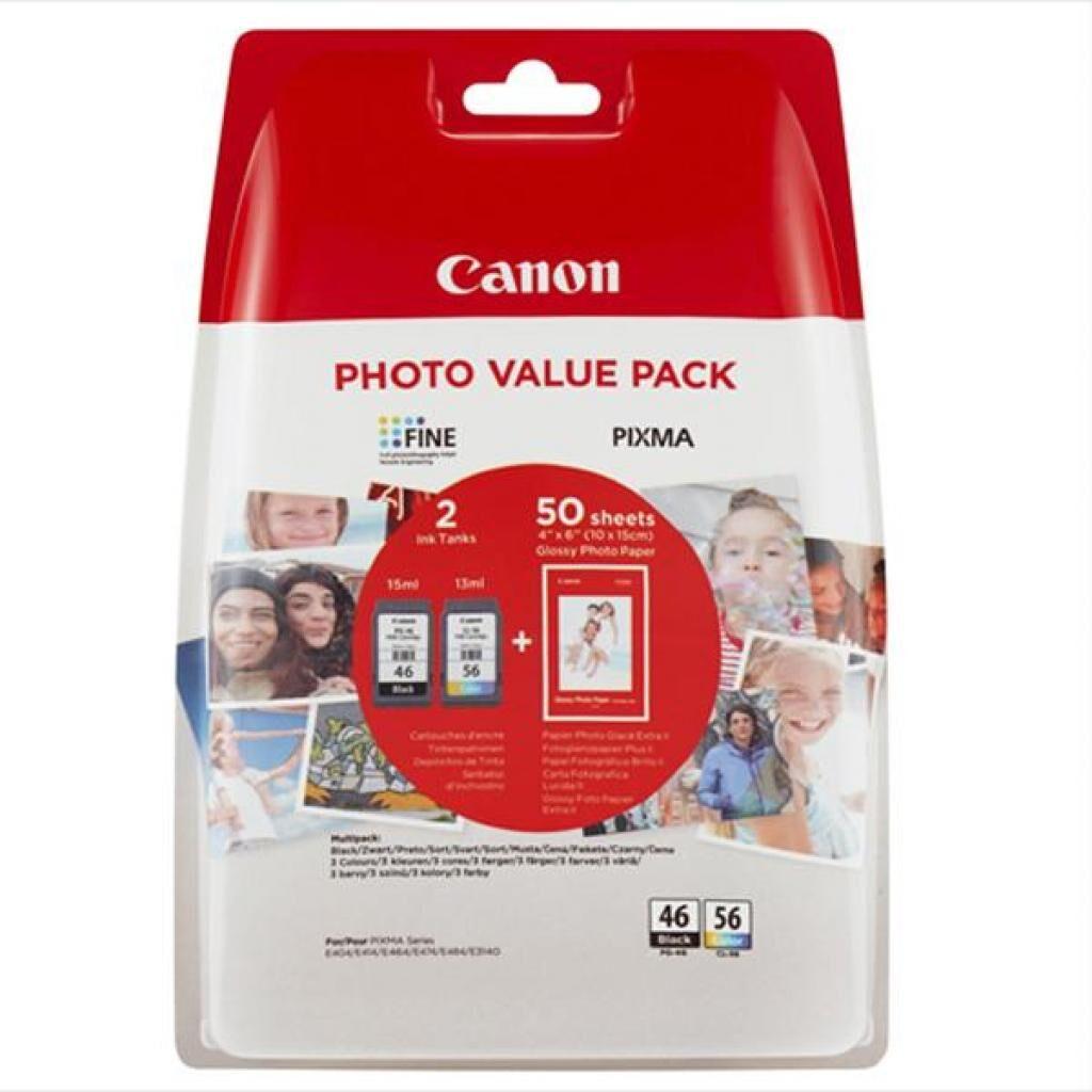 Картридж Canon PG-46 + CL-56 + Paper (Multi Pack) (9059B003)