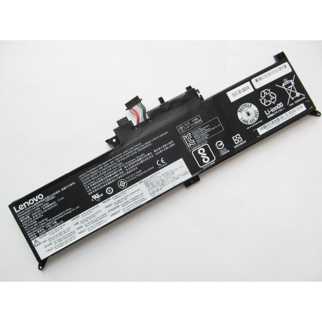 Аккумулятор для ноутбука Lenovo Yoga 12 X260 01AV434, 51Wh (3355mAh), 4cell, 15.2V AlSoft (A47450)