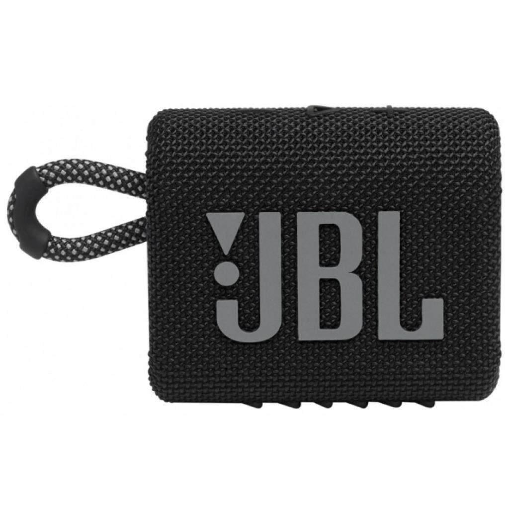 Акустическая система JBL Go 3 Black (JBLGO3BLK)