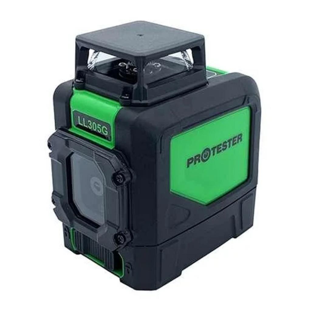 Лазерный нивелир Protester H360°/1V, зеленый луч (LL305G)