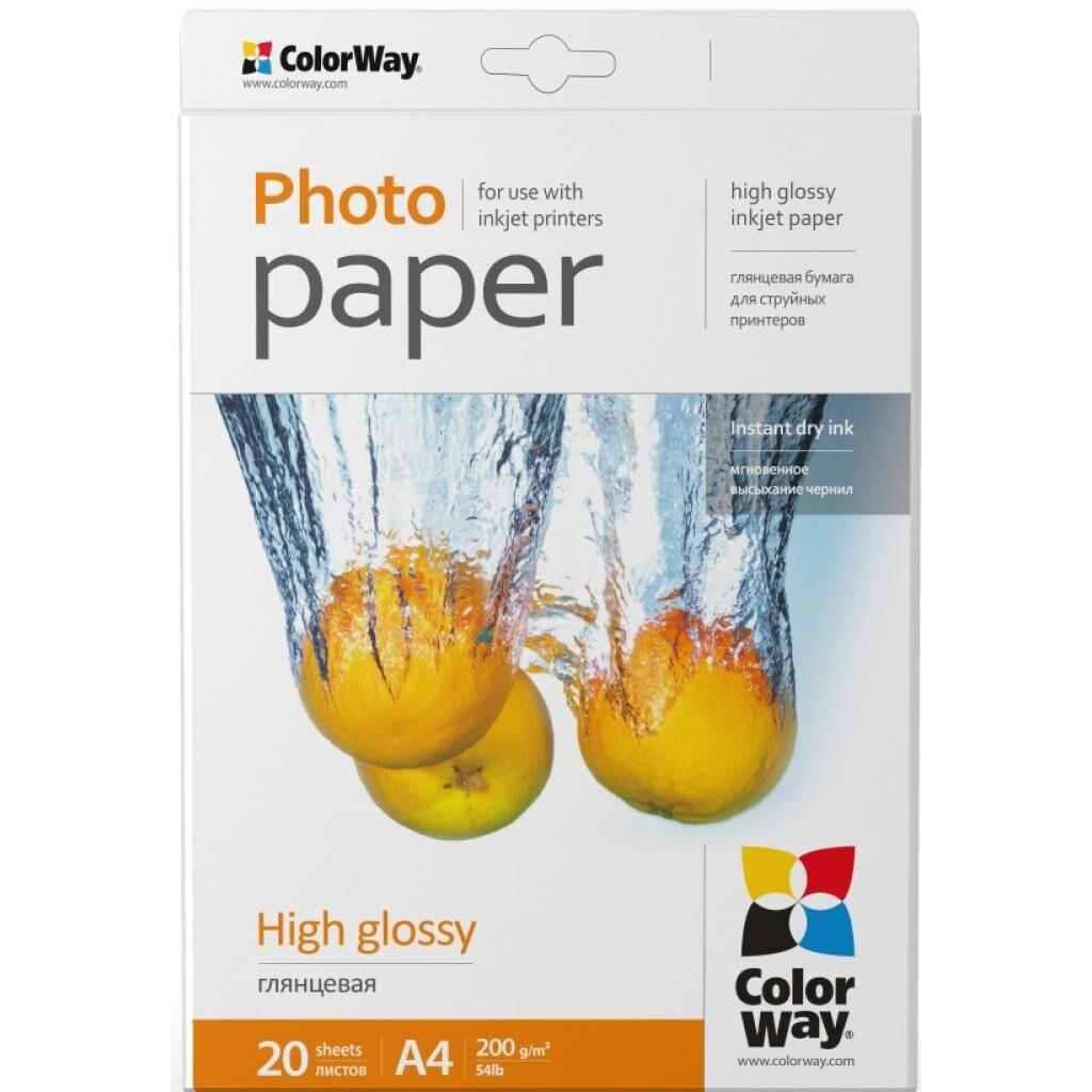 Бумага ColorWay A4 (PG200020A4)