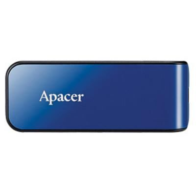 USB флеш накопитель Apacer 32GB AH334 blue USB 2.0 (AP32GAH334U-1)