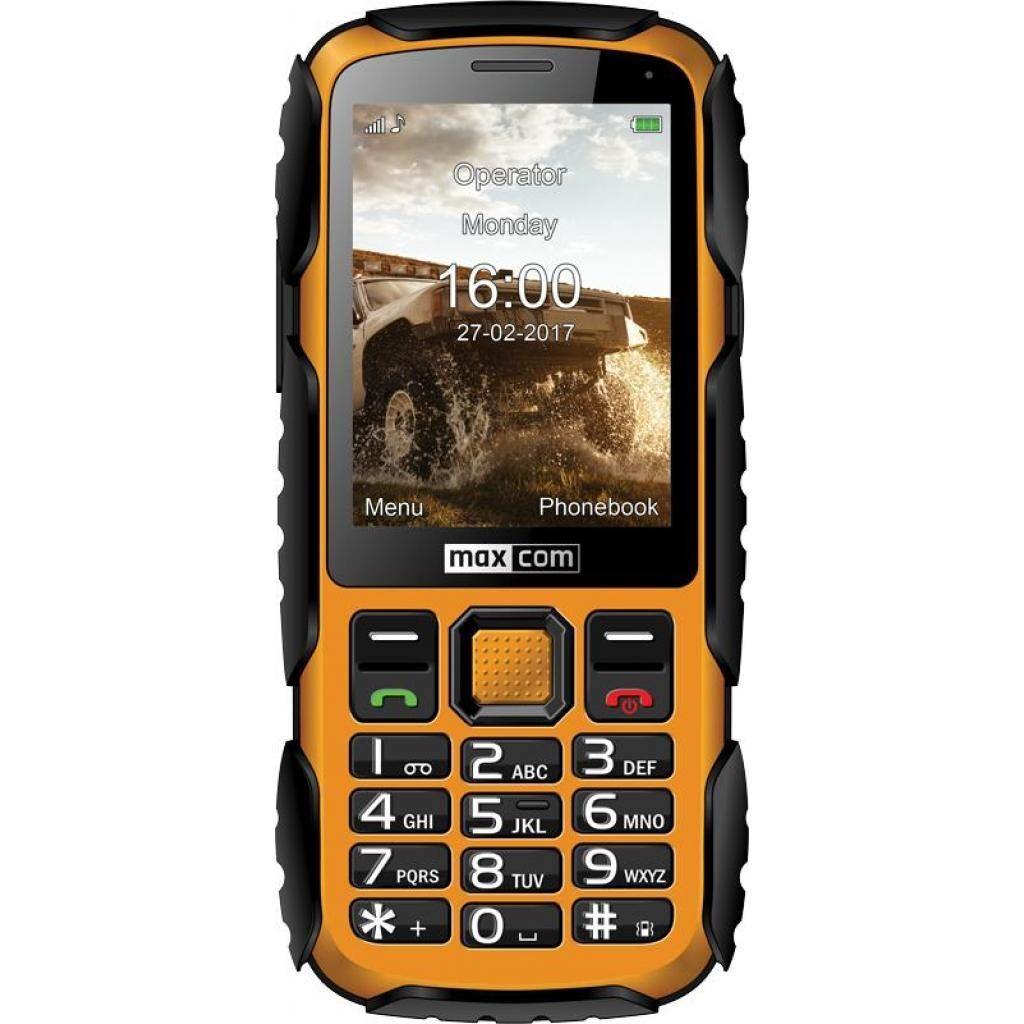 Мобильный телефон Maxcom MM920 Black Yellow (5908235974019)