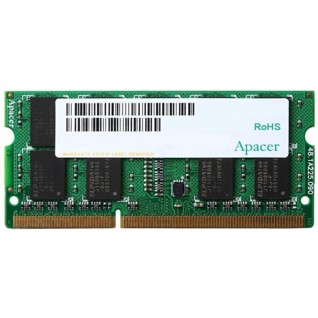 Модуль памяти для ноутбука SoDIMM DDR3L 4GB 1600 MHz Apacer (DV.04G2K.KAM)
