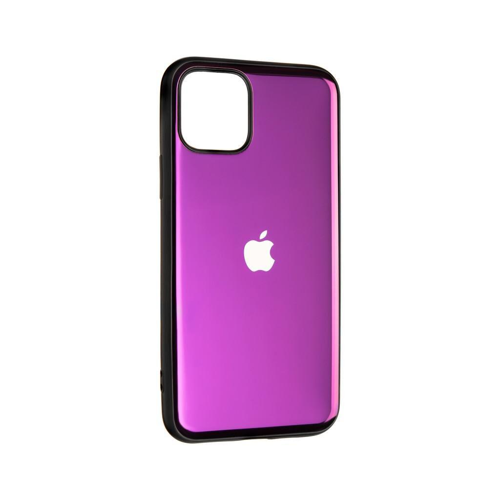 Чехол для моб. телефона Gelius Metal Glass Case for iPhone 11 Pro Violet (00000077030)