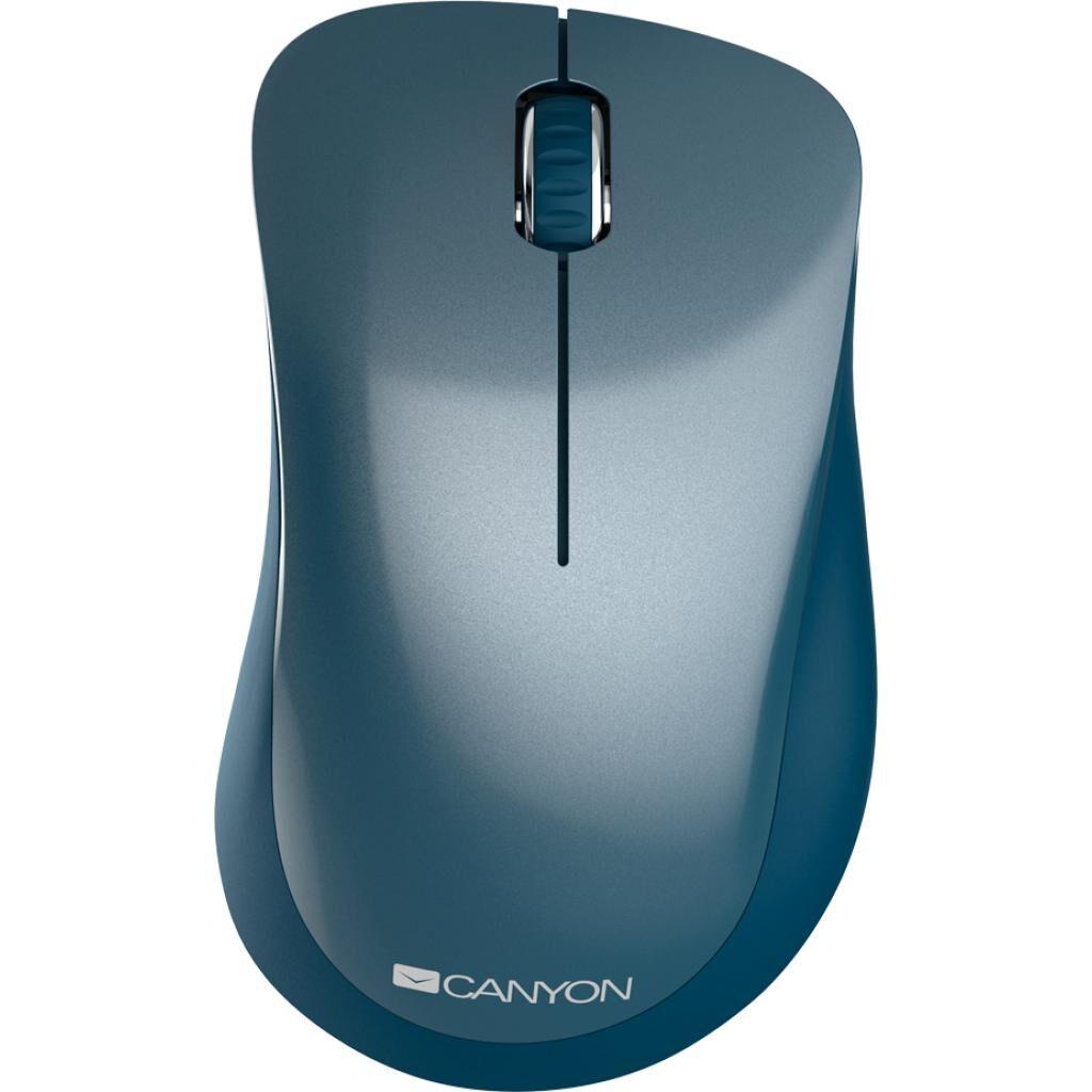 Мышка CANYON MW-11 Wireless Pixart Blue (CNE-CMSW11BL)