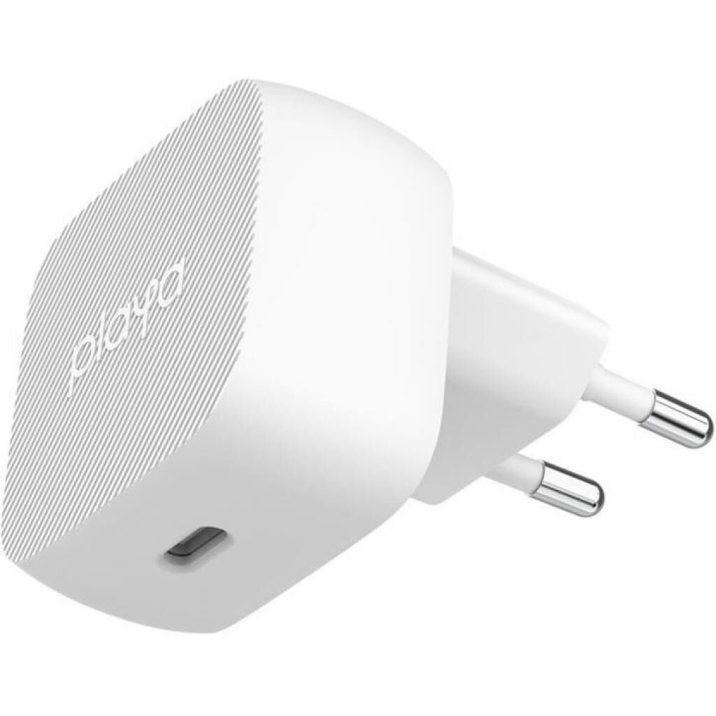 Зарядное устройство Belkin Playa Home Charger 18W USB-C PD, white (PP0001VFC2-PBB)