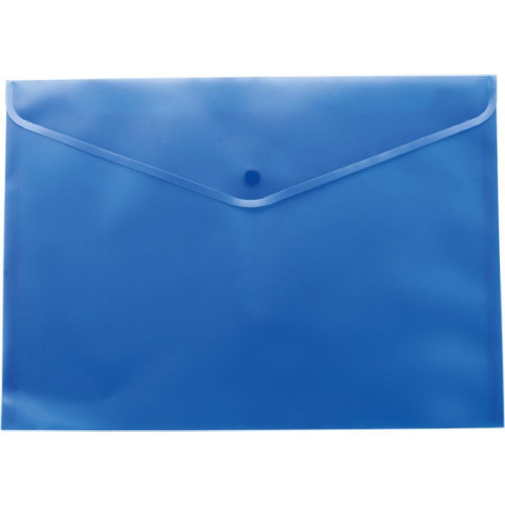 Папка - конверт BUROMAX А5, with a button, blue (BM.3936-02)