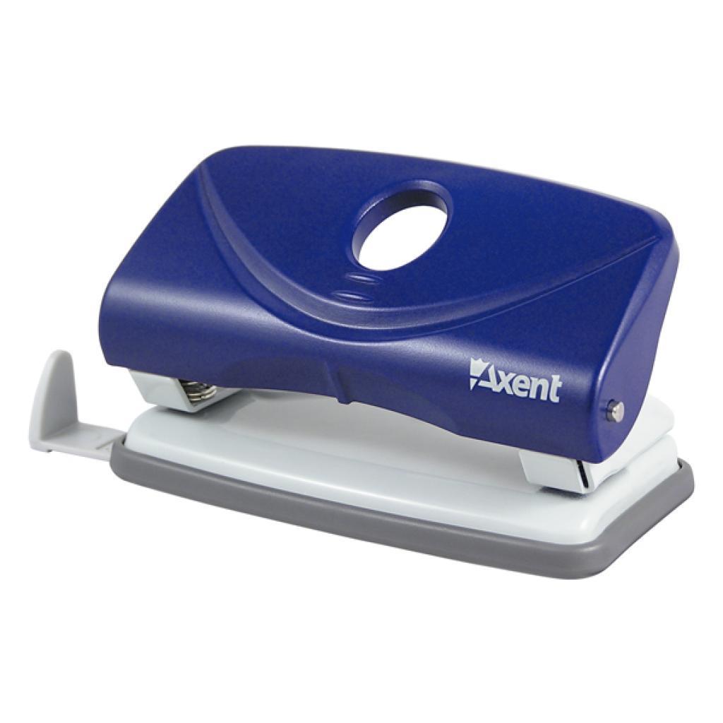 Дырокол Axent Welle-2 plastic, 10sheets, blue (3810-02-А)