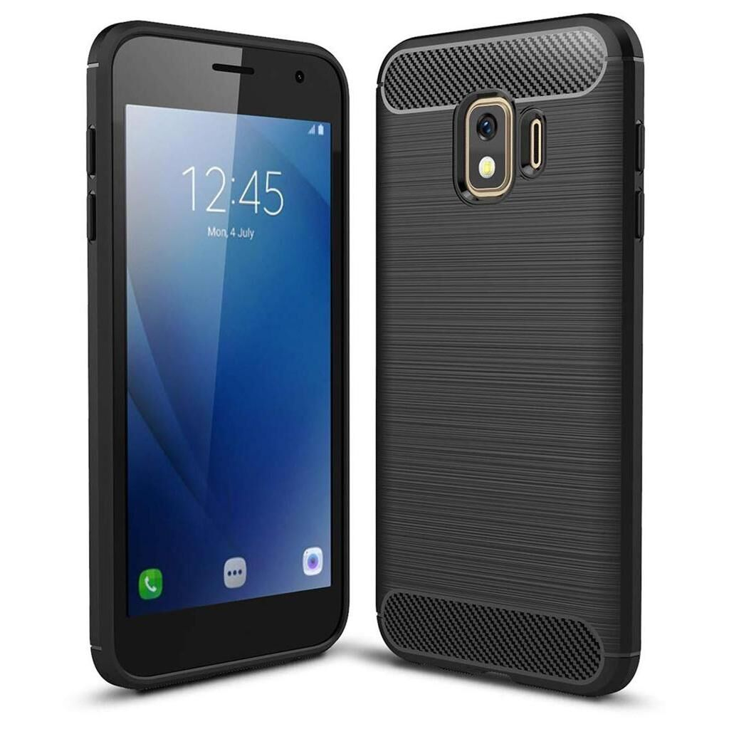 Чехол для моб. телефона Laudtec для Samsung Galaxy J2 Core Carbon Fiber (Black) (LT-J2C)
