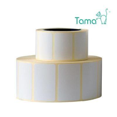 Этикетка TAMA термотрансферна 80x37/ 1тис н/гл (4763)