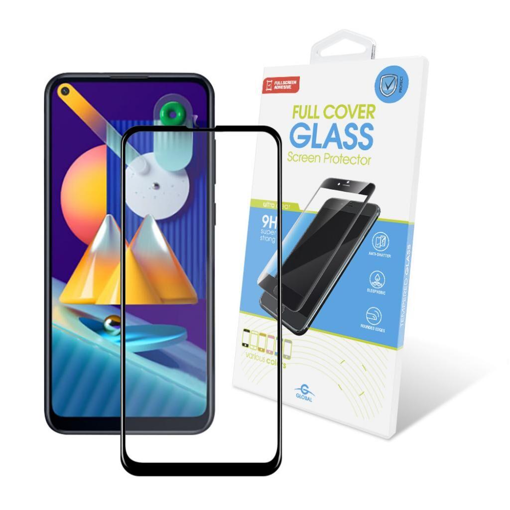 Стекло защитное GLOBAL Full Glue Samsung S21+ (G996) (1283126510182)