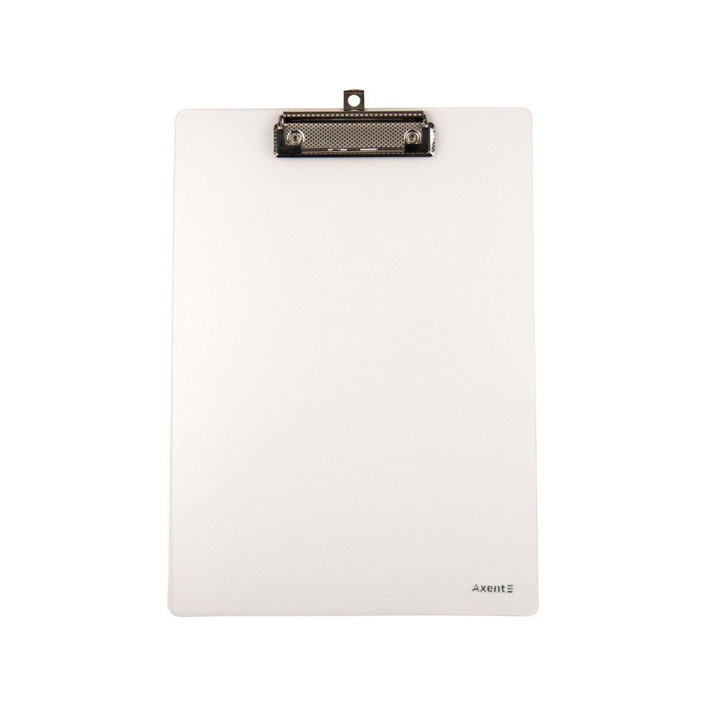 Клипборд-папка Axent с металлическим клипом А4 прозрачная (2515-27-A)