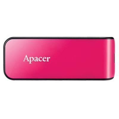 USB флеш накопитель Apacer 64GB AH334 pink USB 2.0 (AP64GAH334P-1)
