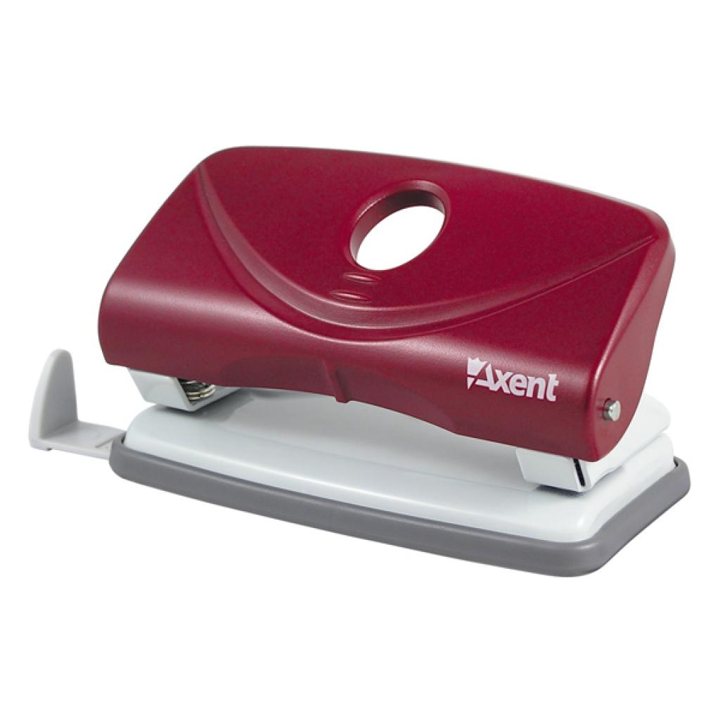 Дырокол Axent Welle-2 plastic, 10sheets, red (3810-06-А)