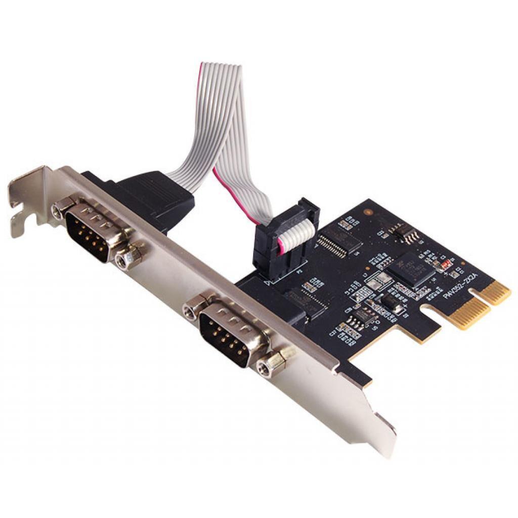 Контроллер ST-Lab RS232 (COM) 2 ch Exar XR17V352, PCI-E (I-560)