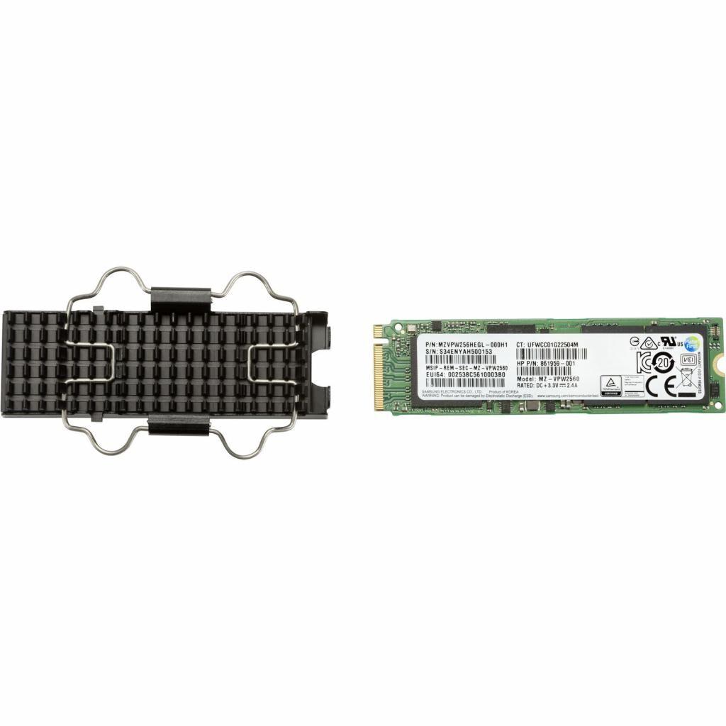Накопитель SSD для сервера 256GB TLC Z2 G4 SSD Z Turbo Drive HP (6EU82AA)