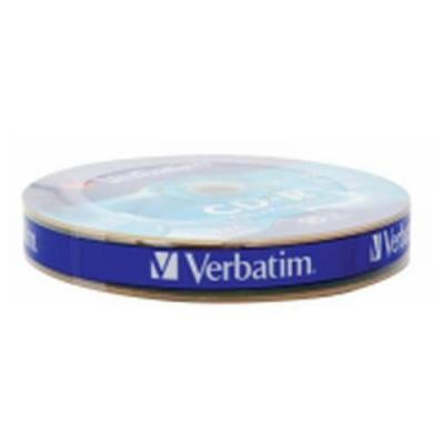 Диск CD Verbatim 700Mb 52x Spindle Wrap box Extra (43725)