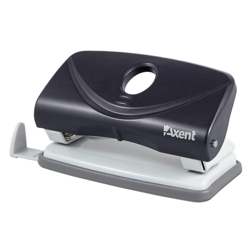 Дырокол Axent Welle-2 plastic, 10sheets, black (3810-01-А)