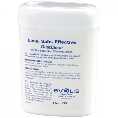 Набор для очистки Evolis Комплект для очищення (серветки) (A5004)