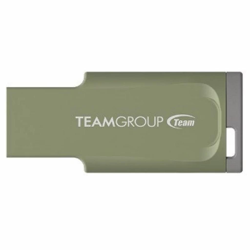 USB флеш накопитель Team 64GB C201 Green USB 3.2 (TC201364GG01)