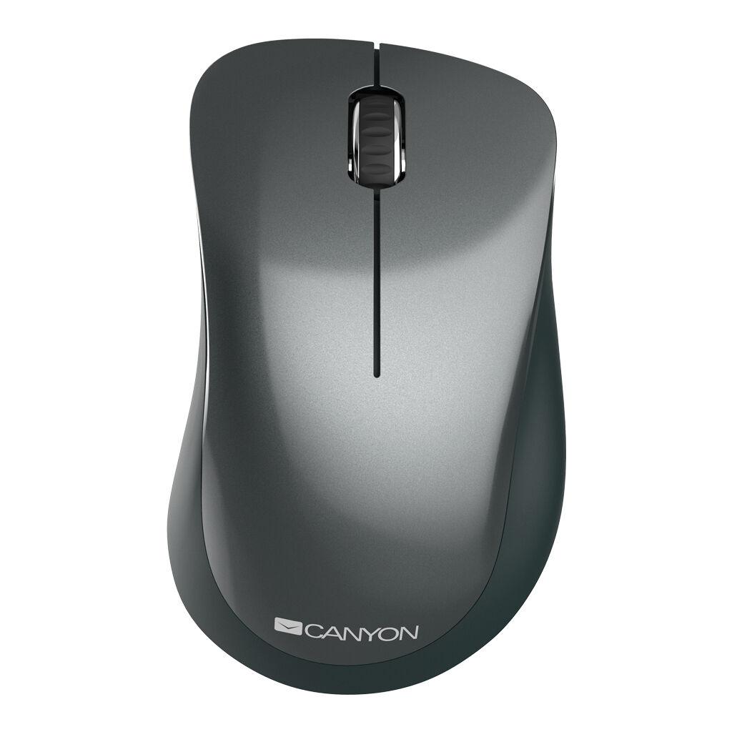 Мышка CANYON MW-11 Wireless Pixart Black (CNE-CMSW11B)