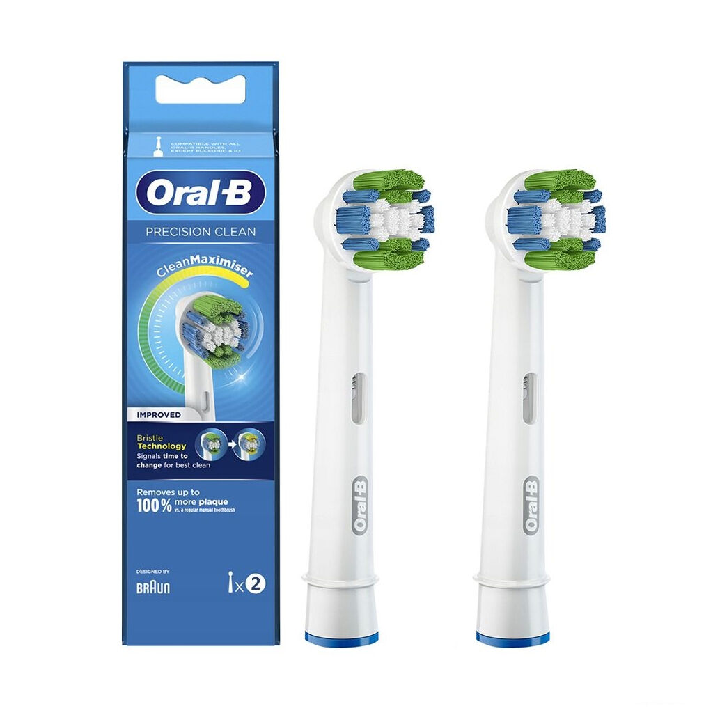 Насадка для зубной щетки Oral-B Precision Clean EB20RB CleanMaximiser (2)