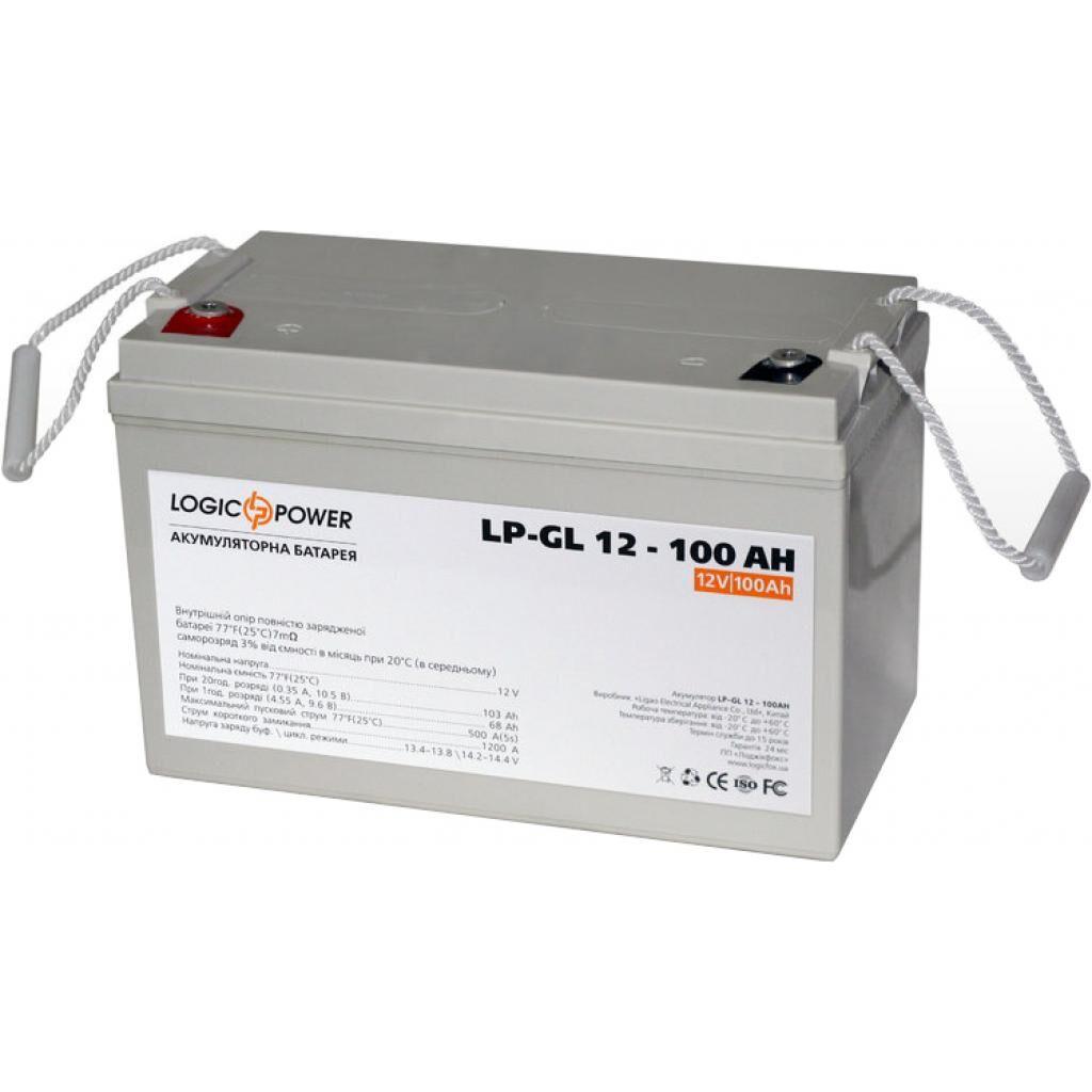 Батарея к ИБП LogicPower LPM-GL 12В 100Ач (3871)