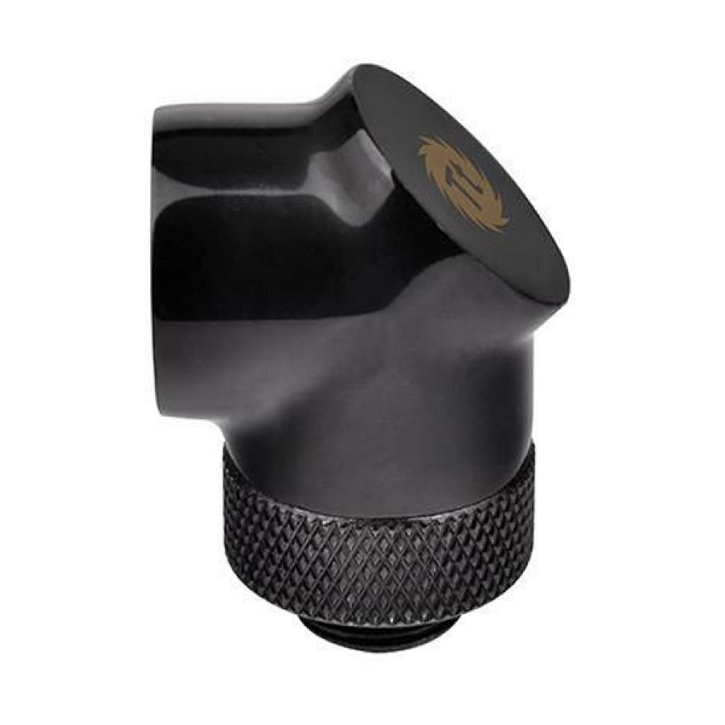 Фитинг для СВО ThermalTake Pacific G1/4 90 Degree Adapter - Black (CL-W052-CU00BL-A)