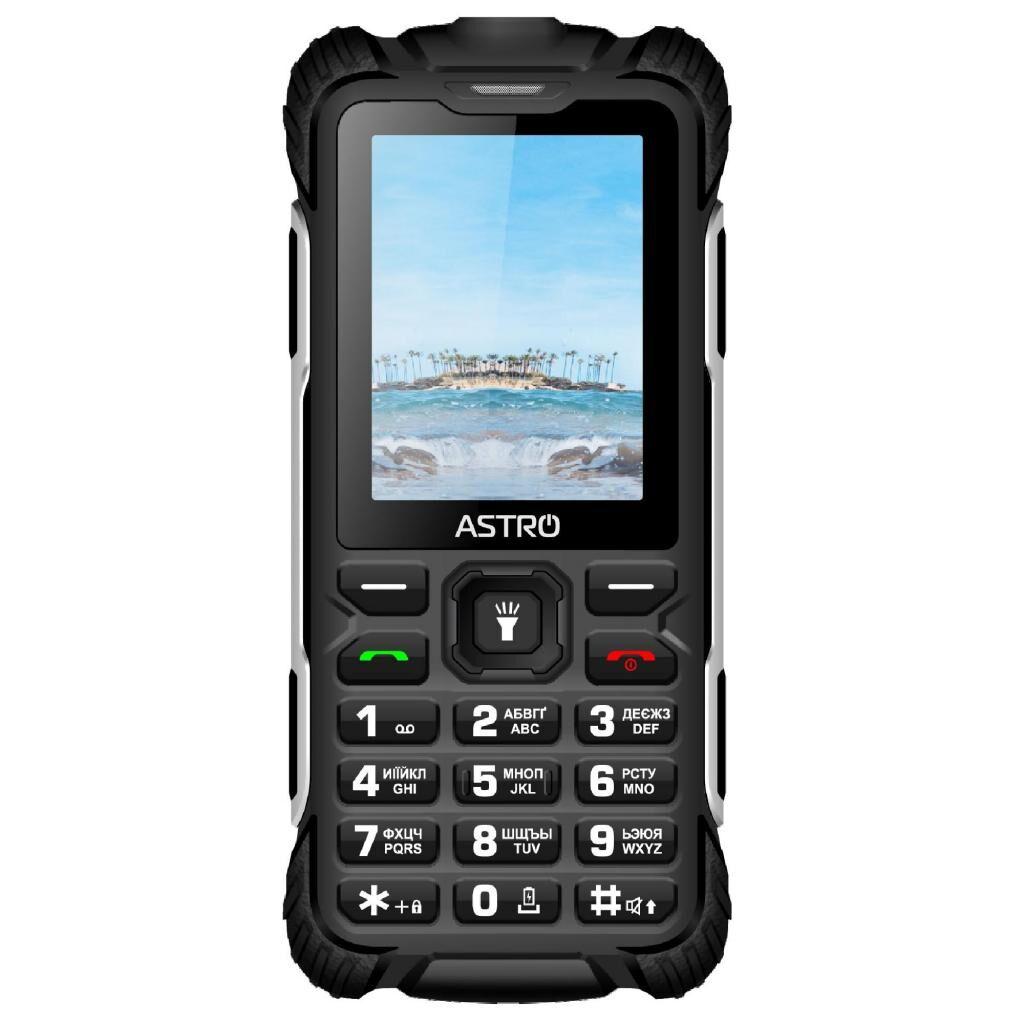 Мобильный телефон Astro A243 Black