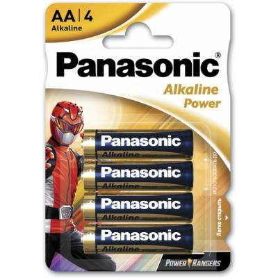 Батарейка PANASONIC AA LR6 POWER * 4 Power Rangers (LR6REB/4BPRPR)