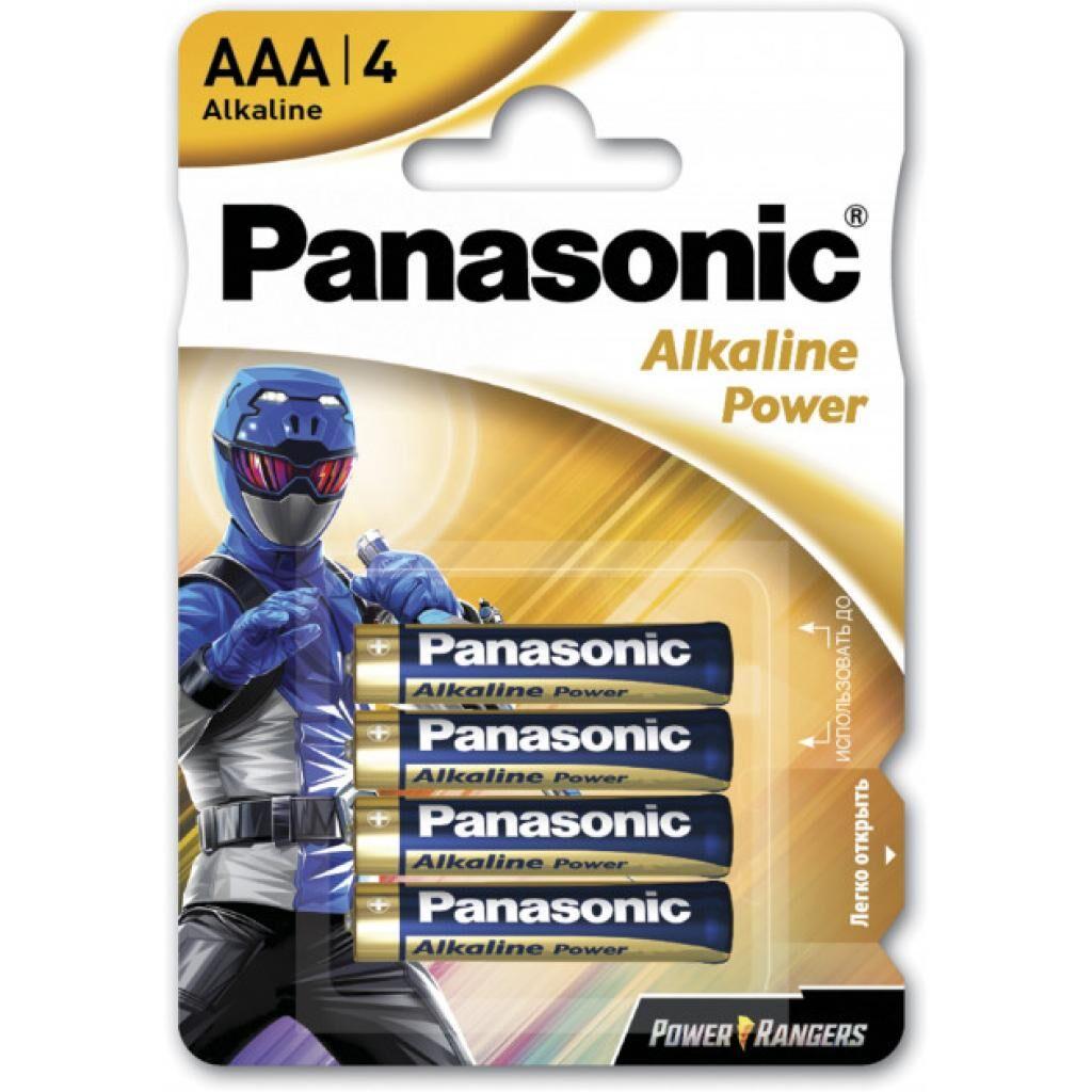 Батарейка Panasonic AAA LR03 POWER * 4 Power Rangers (LR03REB/4BPRPR)