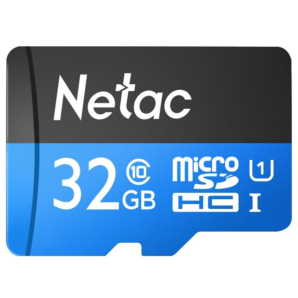 Карта памяти Netac 32GB microSD class 10 UHS-I U1 (NT02P500STN-032G-S)