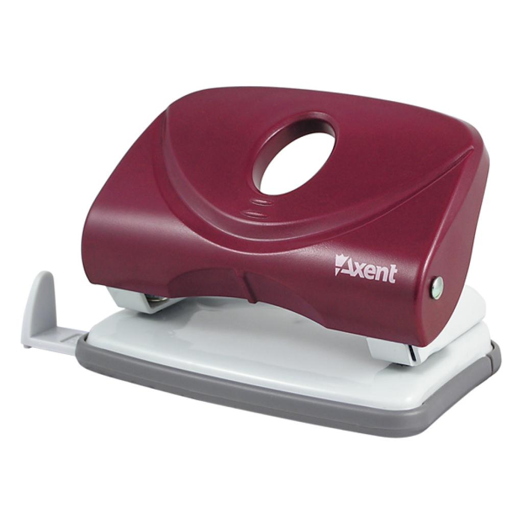 Дырокол Axent Welle-2 plastic, 20sheets, red (3820-06-А)