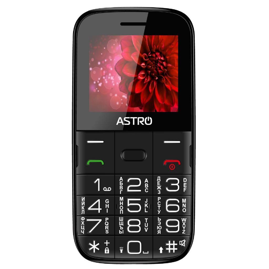Мобильный телефон Astro A241 Black