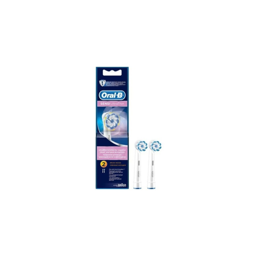Насадка для зубной щетки Oral-B Sensi UltraThin EB60 2шт