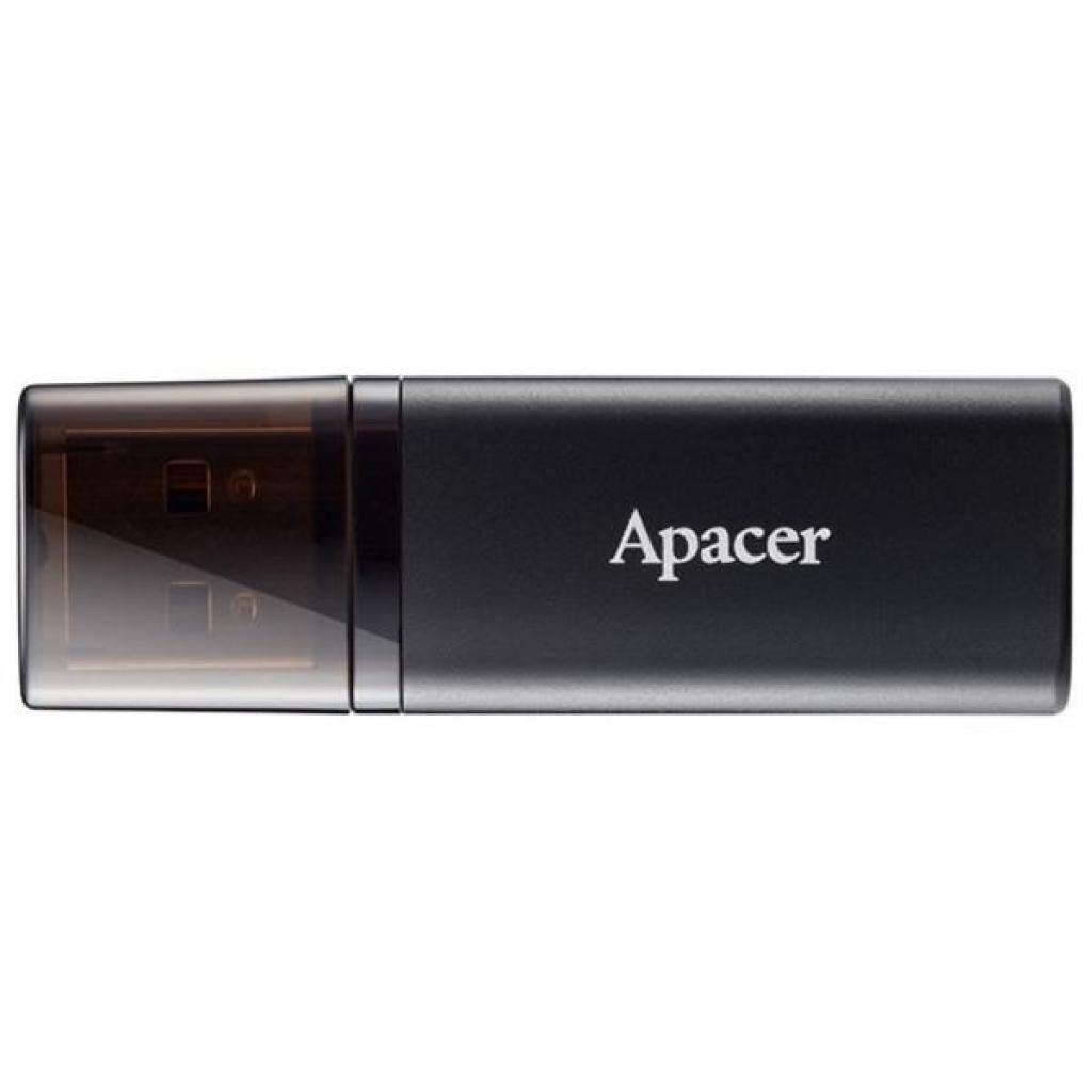 USB флеш накопитель Apacer 32GB AH23B Black USB 2.0 (AP32GAH23BB-1)