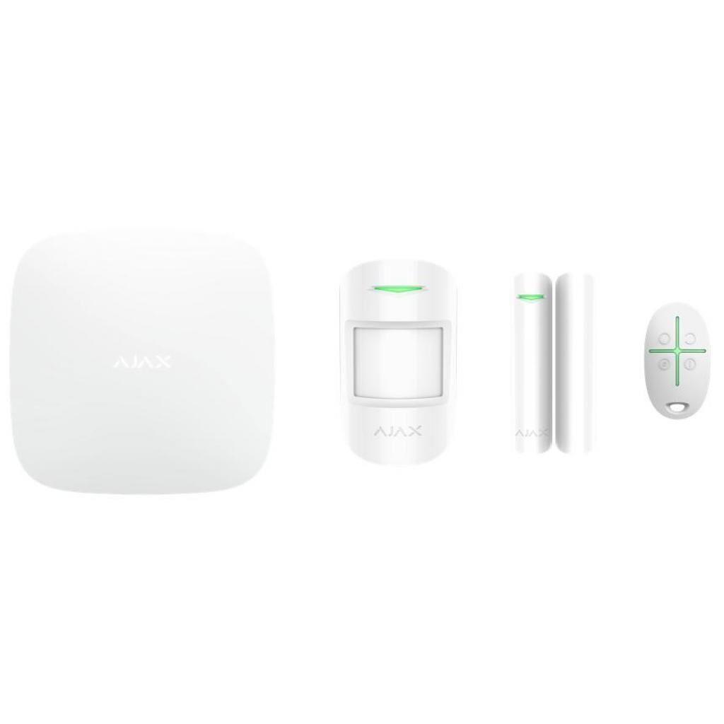 Комплект охранной сигнализации Ajax StarterKit Plus - Hubkit Plus /White (StarterKit Plus)